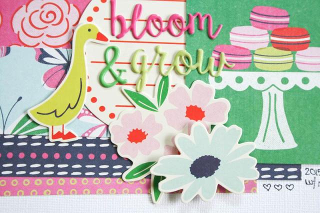 Объемные стикеры  FLOWER GIRL от WeRmk