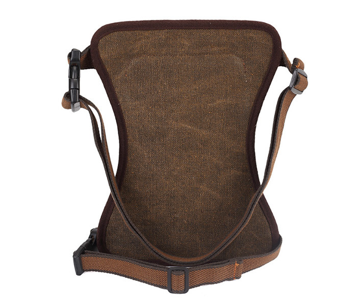 BAG397-2 Удобная набедренная мужская сумка из ткани фото 05