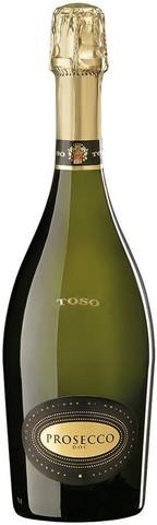 Игристое вино Toso, Prosecco DOC Millesimato, 0.75