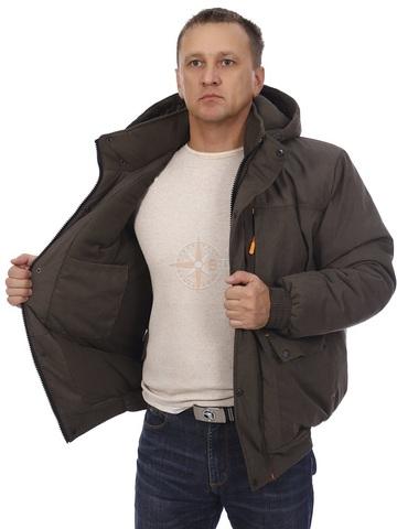 Куртка зимняя БЕРКУТ (Мембрана Хаки)