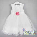 Платье (воздушная сеточка, цветок)