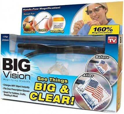 Товары для дома Увеличительные очки лупа Big vision (Всё вижу) 1460_1.jpg