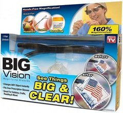 Увеличительные очки лупа Big vision (Всё вижу)