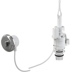 Внешнее смывное устройство для унитаза нажимное Alcaplast MPO11 фото