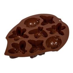 Форма из силикона «Лето» 27,5х21х3 см, 8 ячеек