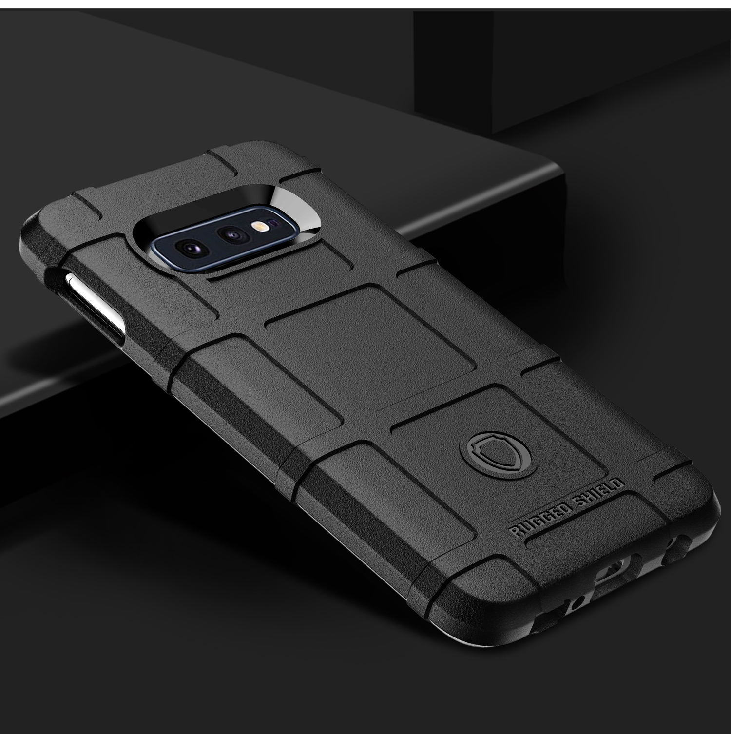Чехол Samsung Galaxy S10e цвет Black (черный), серия Armor, Caseport