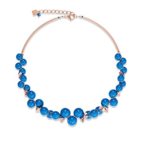 Колье Blue 4937/10-0700