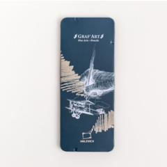 Набор графических материалов Малевичъ Graf'Art в металлическом пенале 8 шт