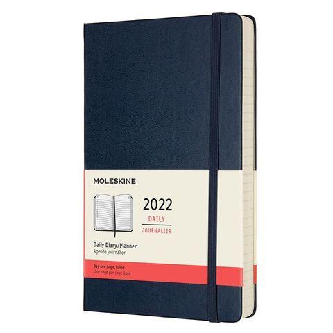 Ежедневник Moleskine (DHB2012DC3) Classic Large 130х210мм 400стр. синий сапфир