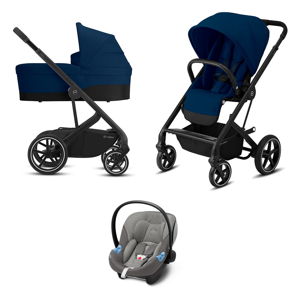 Cybex Balios S 3 в 1 Детская коляска Cybex Balios S Lux BLK 3 в 1 Navy Blue BaliosSLux_CotS_OnFrame_BLK-3in1-navy-blue-soho-grey-at-m.jpg