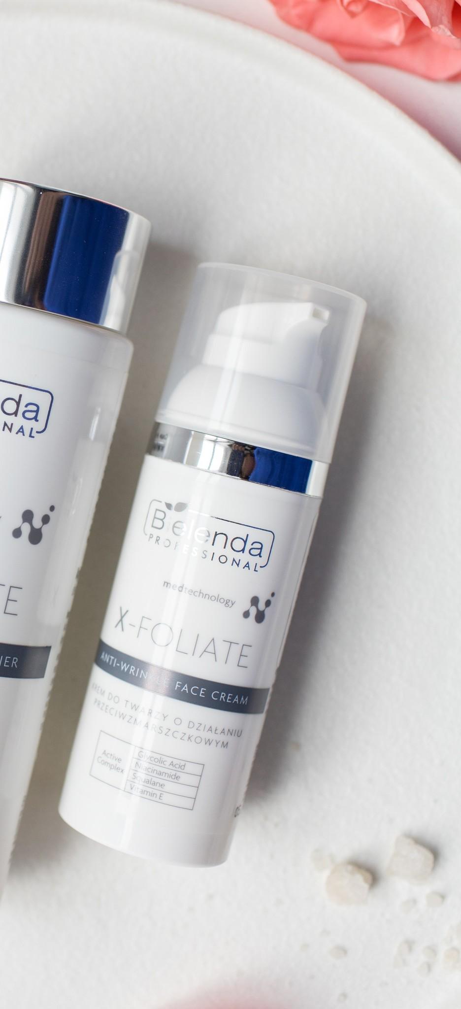 X-FOLIATE Anti Wrinkle Крем для лица с кислотами с мощным лифтинг эффектом, 50 мл.