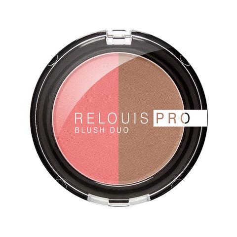 Румяна компактные Relouis Pro Blush Duo тон 204