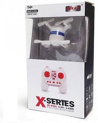 Радиоуправляемый мини-квадрокоптер MJX X929H Mini - White с барометром и автовзлетом