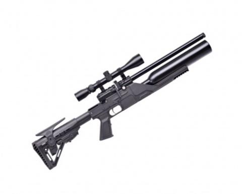 Puncher. maxi.3 к.4,5мм плс Jumbo np-500 с оптикой (3-9х40) (пневматическая PCP винтовка)
