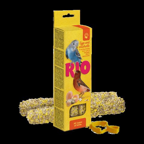 Rio Лакомство для всех видов птиц Палочки с яйцом и ракушечником
