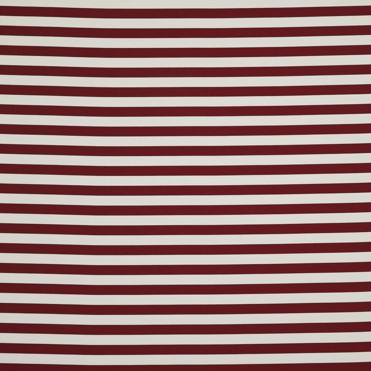 Хлопково-шёлковая полоска тёмно-красного цвета