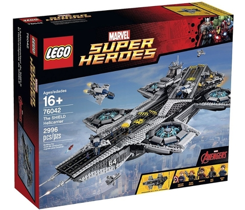 LEGO Super Heroes: Гелликарриер 76042 — The SHIELD Helicarrier — Лего Супергерои Марвел
