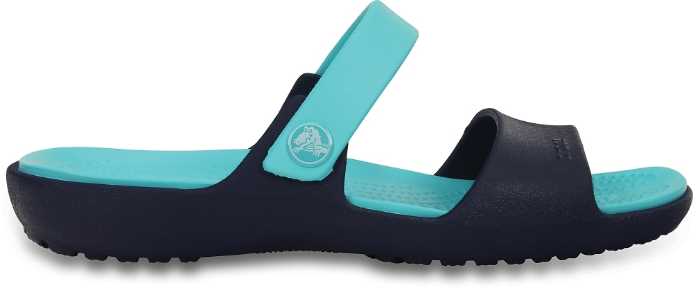 Женские сандалии Crocs Coretta W (Nautical Navy/Pool)