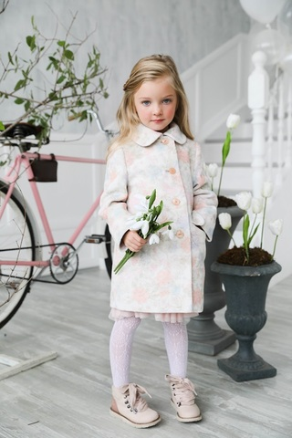 Пальто mamma Mila! (арт. T (flowers)