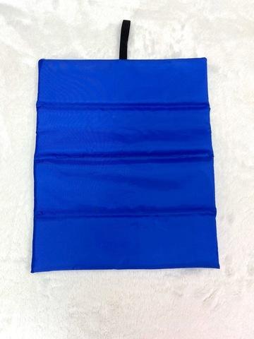 Коврик для ног с принтом (голубой)