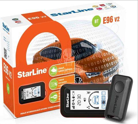 Автосигнализация StarLine E96v2 BT 2CAN+4LIN GSM/GPS