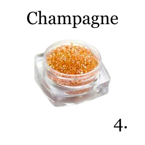 Хрустальная крошка(мелкая) шампань 4 купить за 350руб