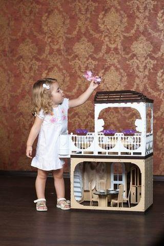 """Дом для кукол Barbie (Барби) """"Коллекция"""", С-1293 с мебелью"""