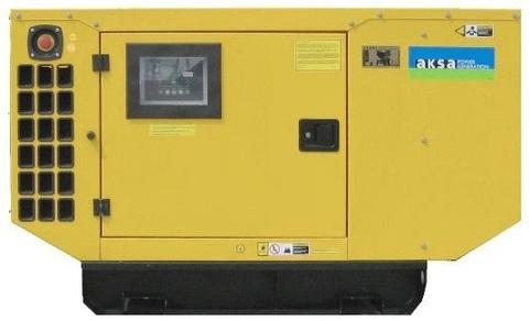 Дизельный генератор Aksa AJD 90 в кожухе