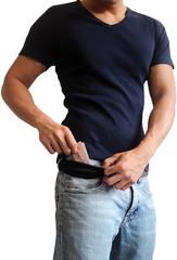 Ремень-тайник Pacsafe Cashsafe 25, черный - 2