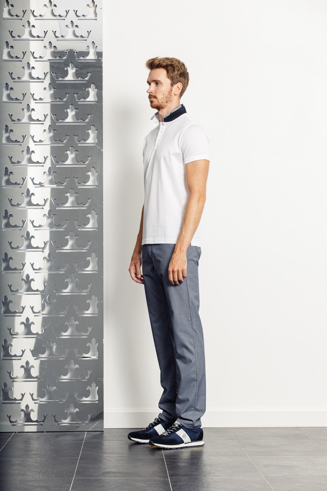 KARL Lagerfeld Поло на пуговицах с лого