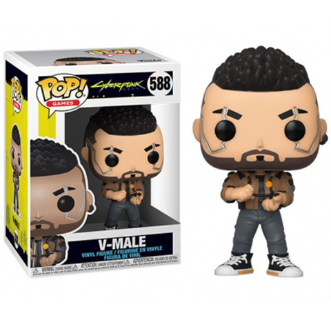 V-Male Cyberpunk 2077 Funko Pop! ||  V-парень