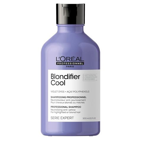 L'Oreal  Professionnel Blondifier: Шампунь для нейтрализации нежелательной желтизны волос (Cool Shampoo), 300мл/1.5л