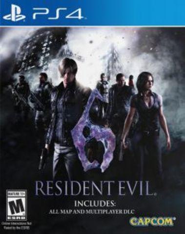 Resident Evil 6 (PS4, русские субтитры)