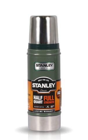 Термос Stanley Legendary Classic (0,47 литра), темно-зеленый