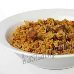 Плов с говядиной 'DeliLabs', 300г готовое блюдо | магазин Каша из топора