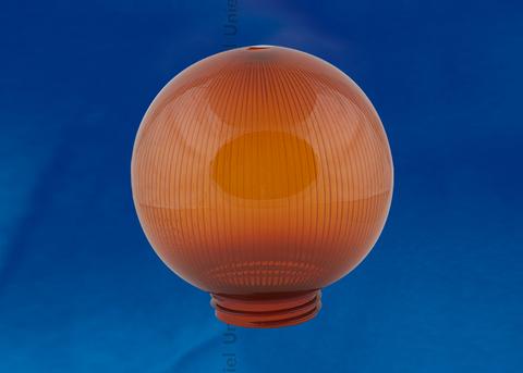 UFP-P200A BRONZE Рассеиватель призматический (с насечками) в форме шара для садово-парковых светильников. Диаметр - 200мм. Тип соединения с крепежным элементом - резьбовой. Материал - САН-пластик. Цвет - бронзовый. Упаковка - 4 шт. в групповой картонной коробке.