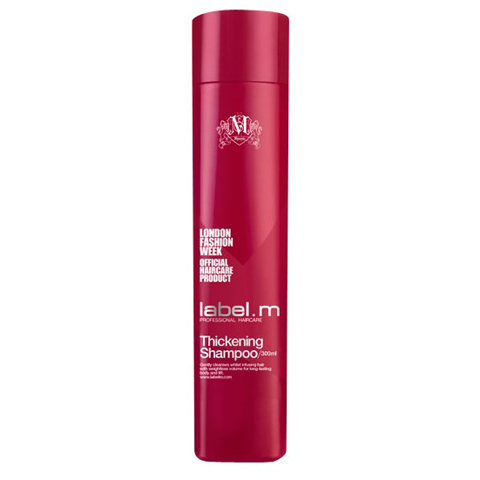 LABEL.M Cleanse: Шампунь для Объёма волос (Thickening Shampoo), 300мл/1л