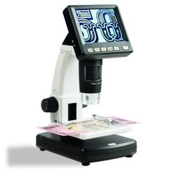 Микроскоп цифровой, увелич. 10-500х, с ЖК-дисплеем, подсветкой