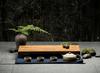 Чайная доска из дерева 46*25 с поддоном