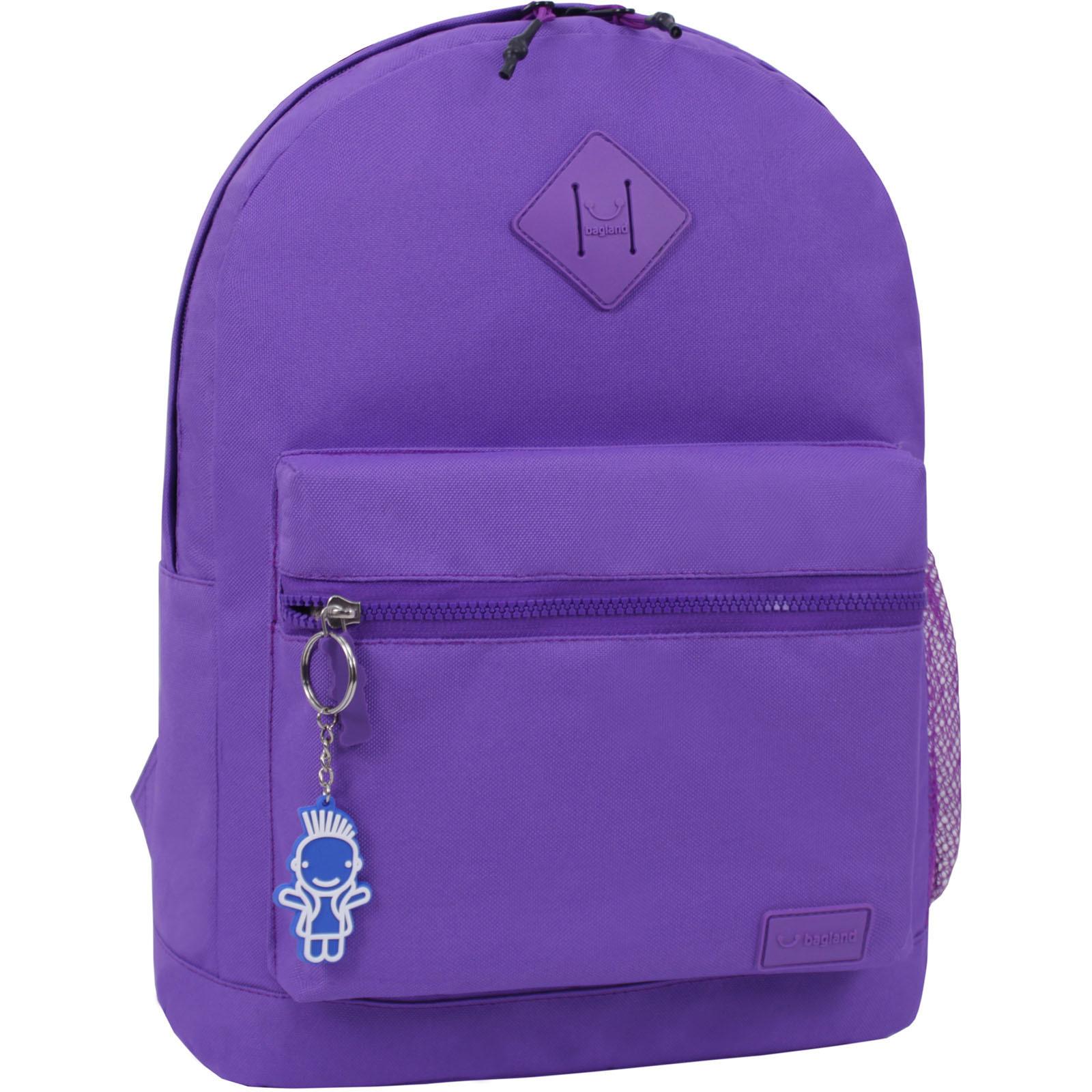 Молодежные рюкзаки Рюкзак Bagland Hood W/R 17 л. фиолетовый 469 (0054466) IMG_6405_суб._469_.JPG