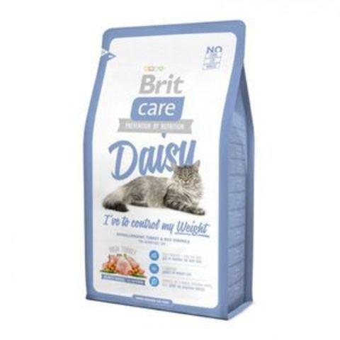 2820 Brit Care Cat Daisy д/ кошек, склонных к излишнему весу 400гр*6