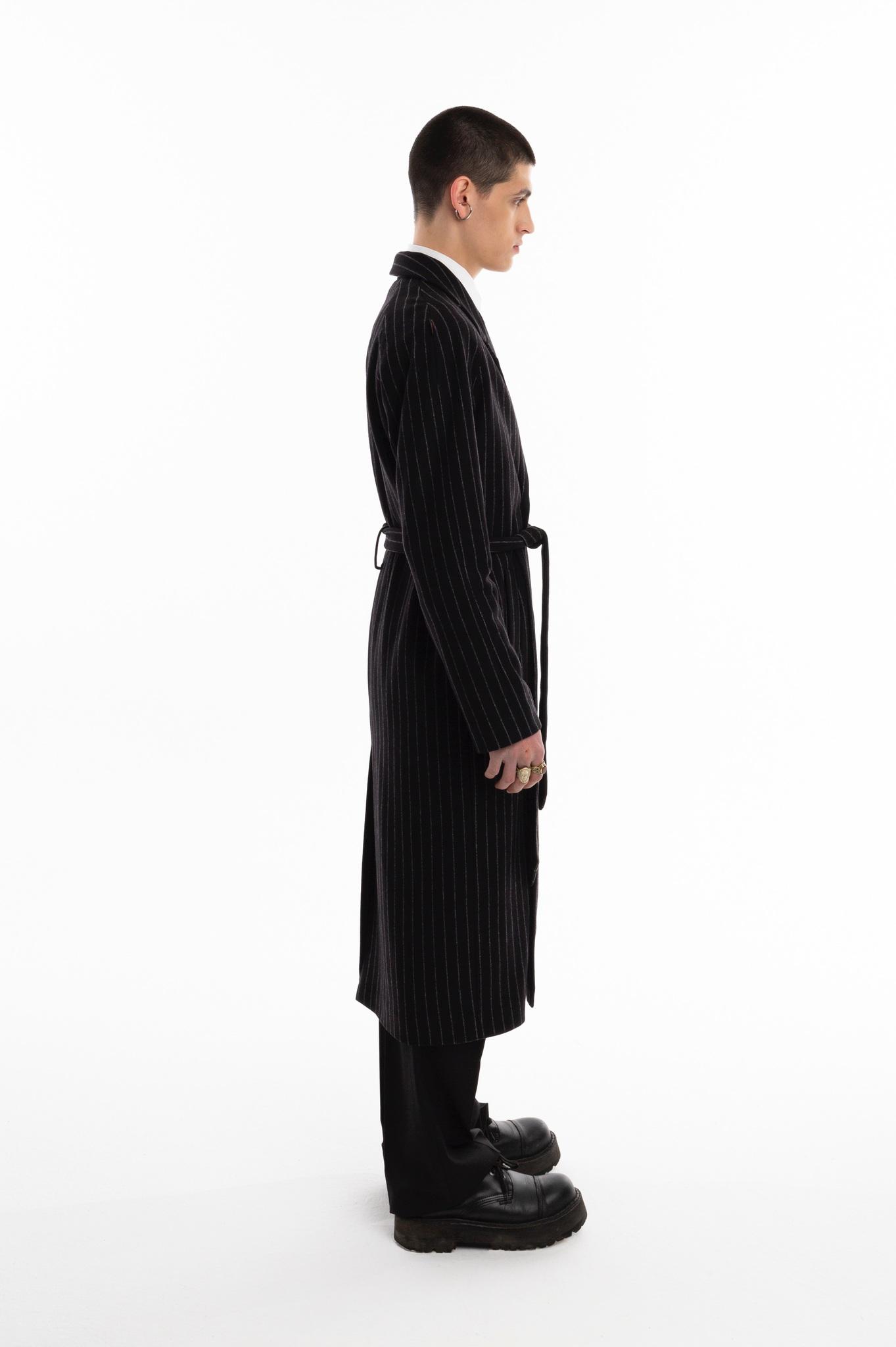 Пальто халат/black