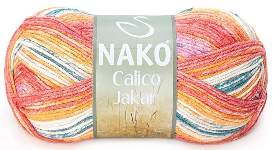 Пряжа Nako Calico Jakar арт. 31538
