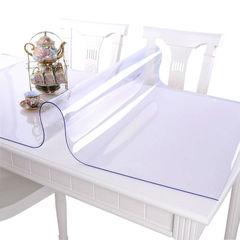 Прозрачная скатерть на стол (гибкое стекло) 120*60 см