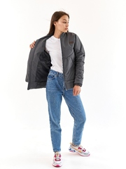 Куртка-бомбер Нью графит