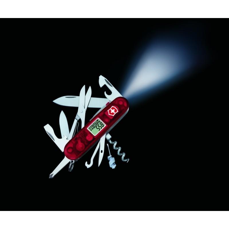 Складной нож Victorinox Traveller Lite (1.7905.AVT) 91 мм., 29 функций, с многофункциональным дисплеем и фонариком - Wenger-Victorinox.Ru