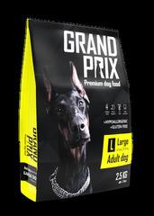 Сухой корм для взрослых собак крупных пород, Grand Prix Large Adult