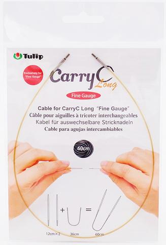 """Тросик для съемных спиц CarryC Long """"Fine Gauge"""", длина 60см, Tulip, CTMM-60"""