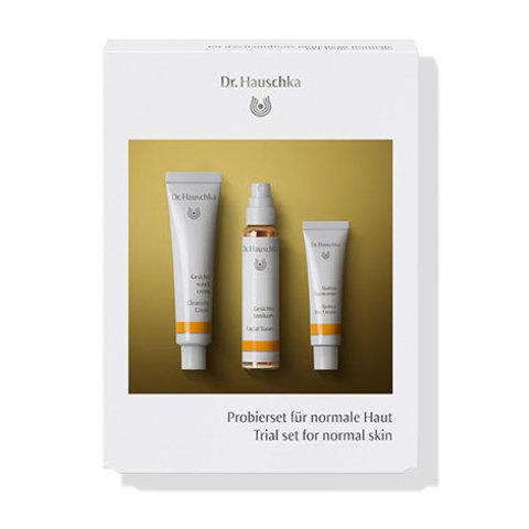 Набор пробников для нормальной кожи (Trial set for normal skin) Dr.Hauschka