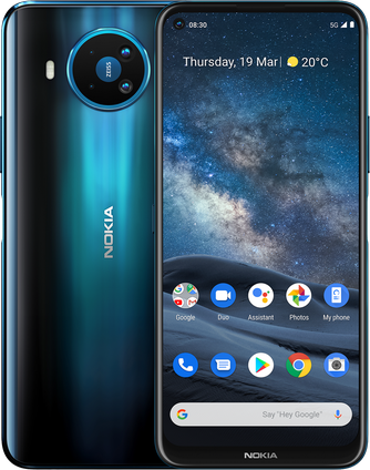 Nokia 8.3 Nokia 8.3 5G Dual Sim 8/128GB Polar Night (Синий) blue1.png